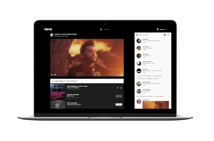 Vevo's Watch Party lets you watch music videos in sync with your friends