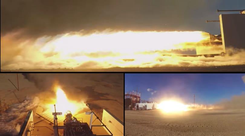 Watch Virgin Galactic test fire its satellite launching rocket