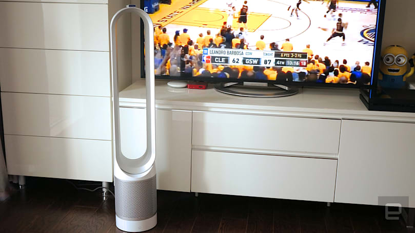 活 · 科技:戴森 Pure Cool Link 空气净化风扇