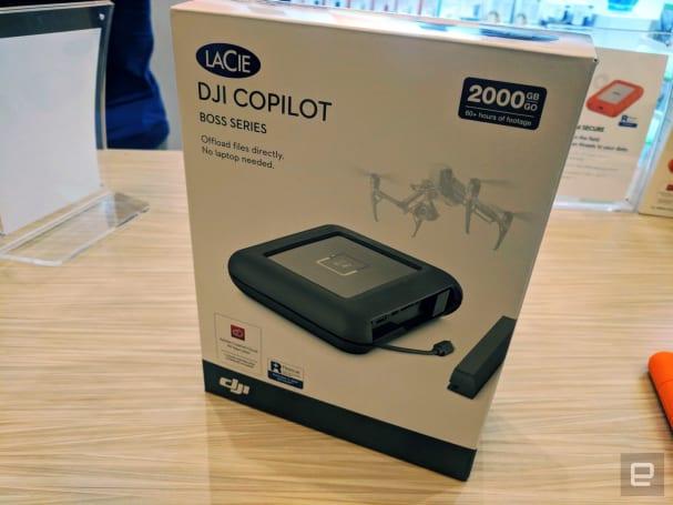 Lacie 的 DJI Copilot 是台瞄准专业人士的备份硬盘
