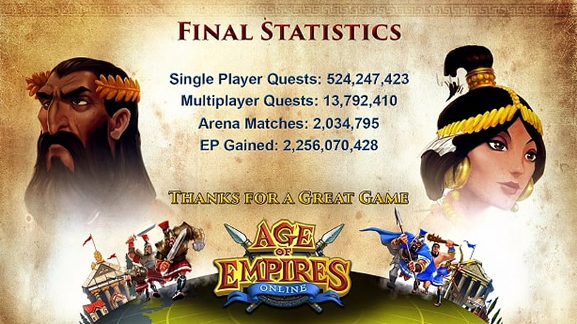 Age of Empires Online now extinct following server shutdown