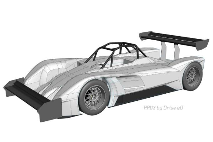 Megawatt electric race car chases prestigious motorsport title