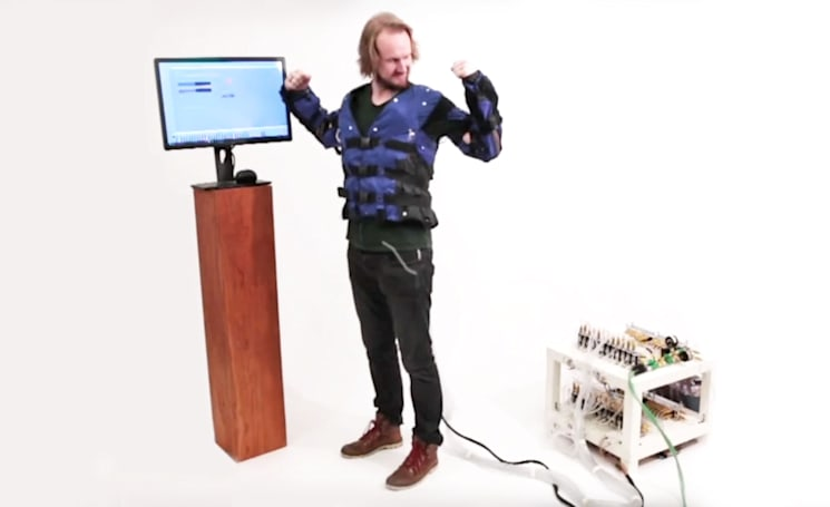 Disney's 'Force Jacket' prototype allows you to feel every VR punch