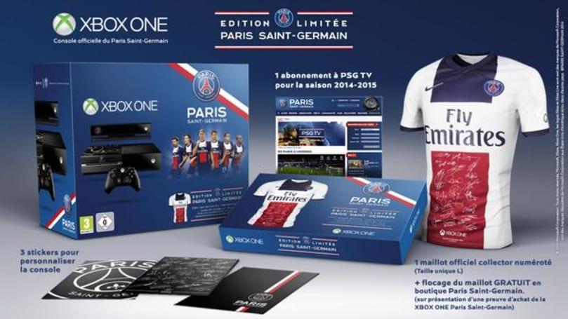 Xbox France goes soccer crazy with Paris Saint-Germain Xbox One bundle