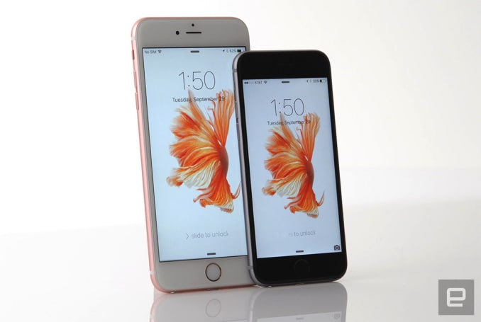 Apple replacing a small number of iPhone 6s batteries