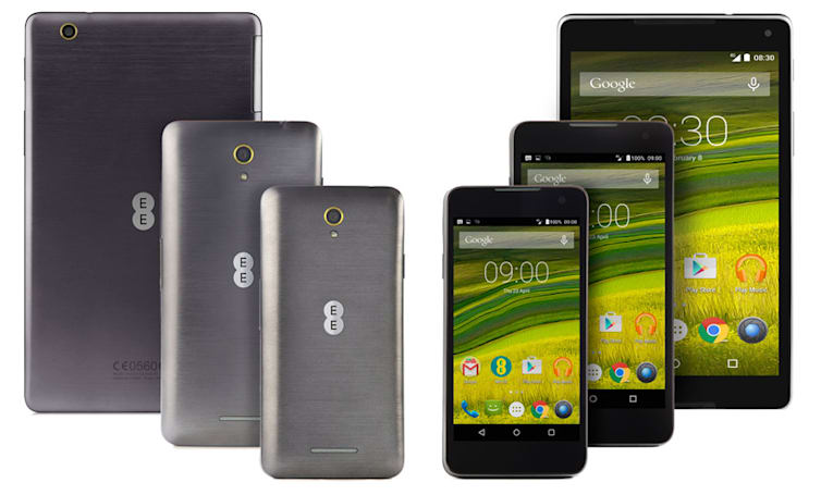EE adds the 8-inch Harrier Tab to its own-brand range
