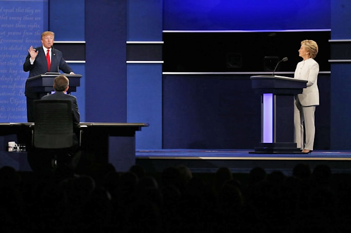 Climate change took a backseat to scandal at the presidential debates