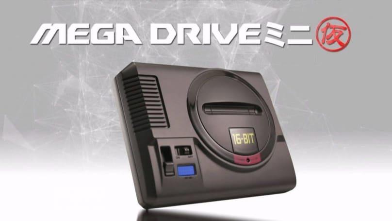 Sega's Mega Drive Mini won't arrive until 2019