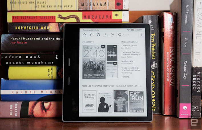 Kindle Oasis review (2017): Cheaper, waterproof and a bigger screen