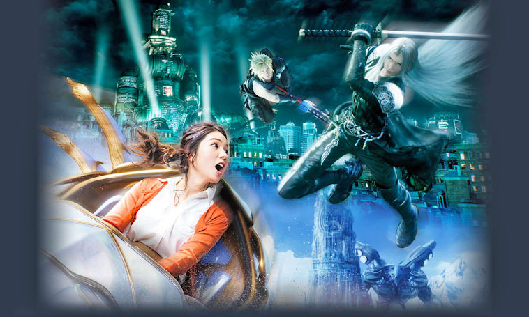A 'Final Fantasy' VR coaster is coming to Universal Studios Japan