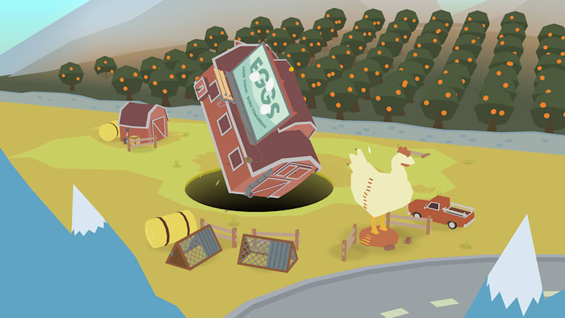 Hole-tastic game 'Donut County' launches August 28th