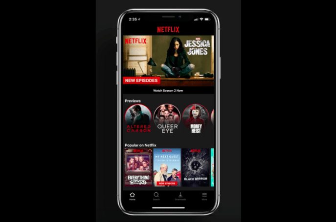 Netflix is bringing video previews to its mobile apps