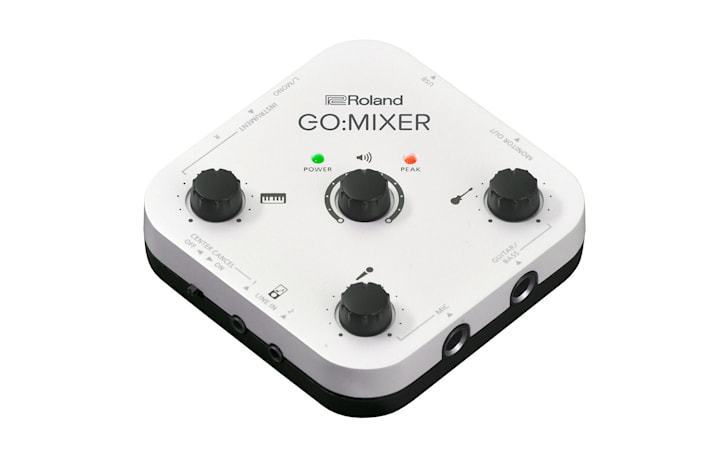 Roland's compact mixer improves audio for your phone videos
