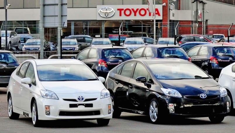 Toyota recalls 2.4 million hybrids over stalling risk