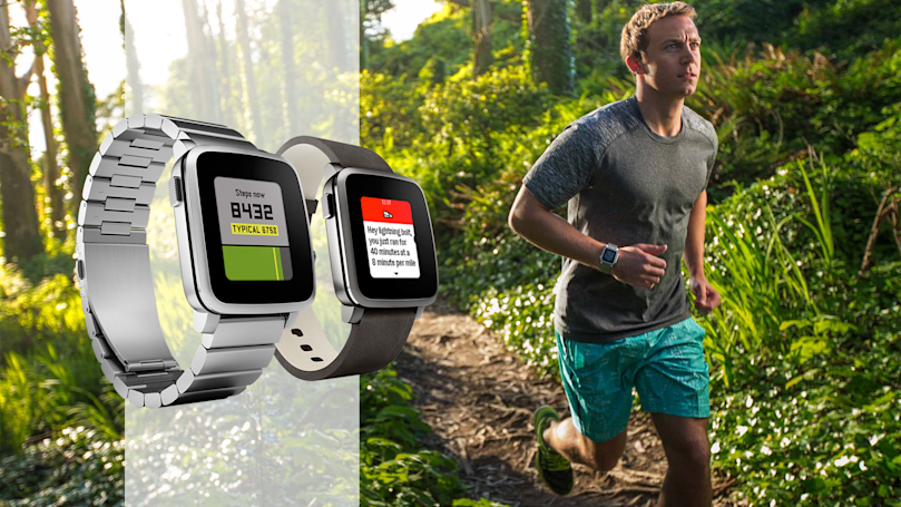 Pebble watches are now better fitness trackers