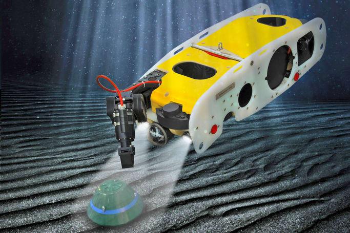 Saab built a robot to stop underwater terrorist bombs