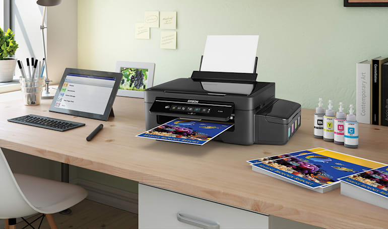 Epson's new printers ease refill woes with ink tanks