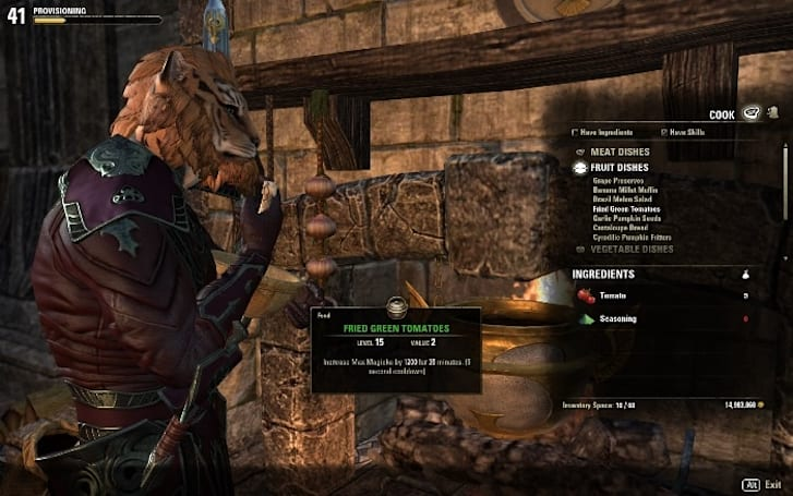 Hungry? Elder Scrolls Online is revamping provisioning