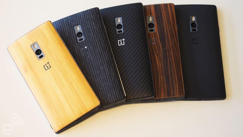 一加手機 2 姍姍來遲:金屬中框加多樣背蓋,相機大升級