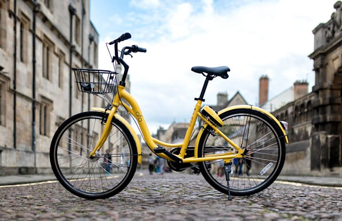London is now awash with bike-sharing schemes