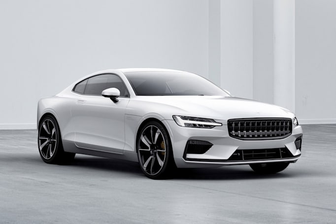 Volvo's performance brand launches a 600HP plug-in hybrid