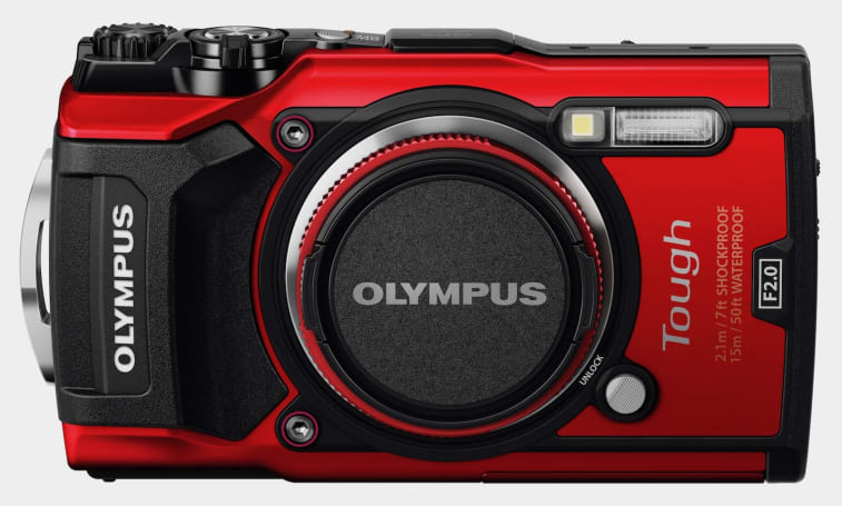 Olympus' TG-5 rugged camera  has 4K video in a compact body