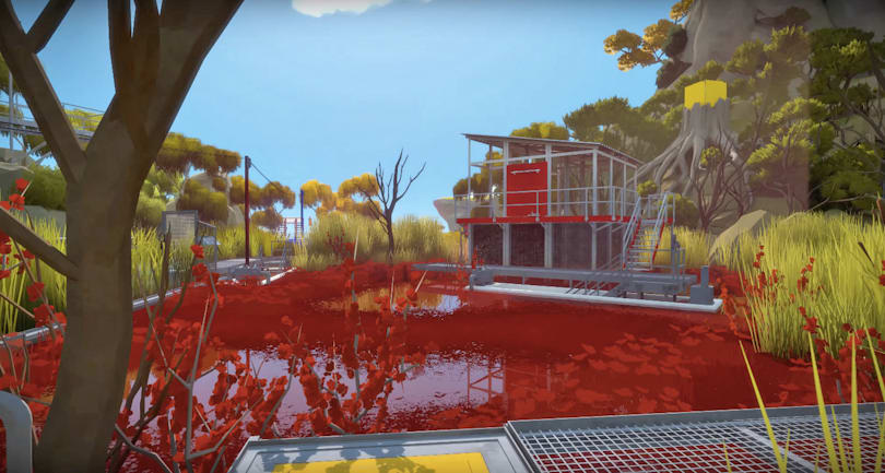 'The Witness' causes motion sickness in some players