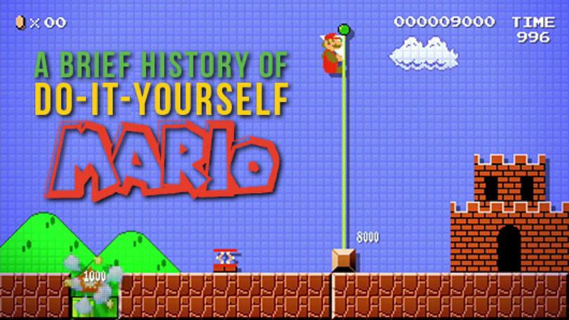 A brief history of do-it-yourself Mario