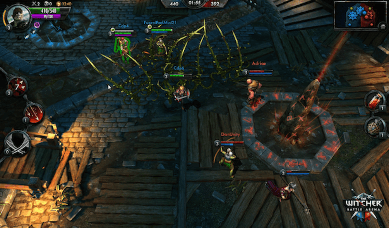 The Witcher Battle Arena trailer gets MOBA in your action RPG