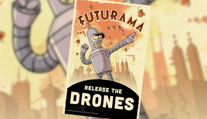 'Futurama' will be resurrected as a mobile game
