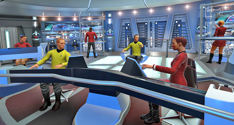 'Star Trek: Bridge Crew' finds a new frontier in VR co-op gaming