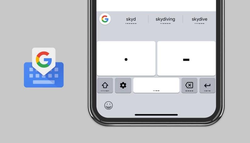 Google 为 iOS 的 Gboard 带来无障碍摩斯密码输入法