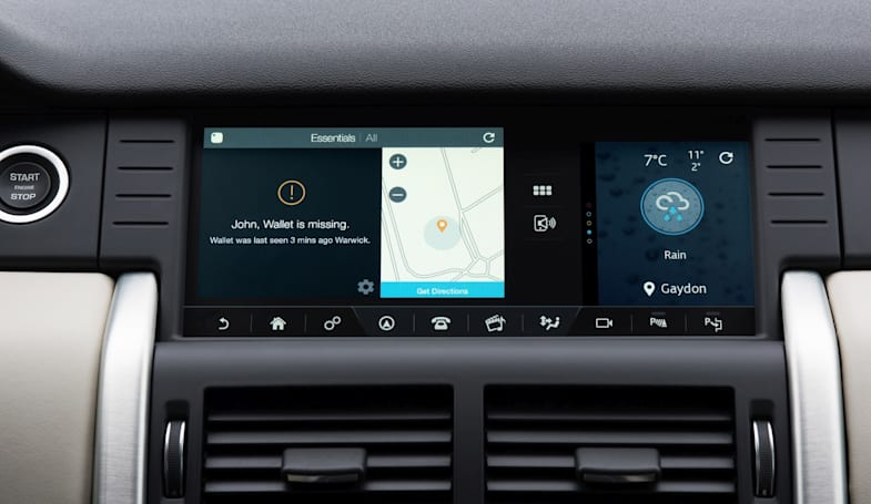 Land Rover puts Tile's stuff-finding Bluetooth tech in an SUV
