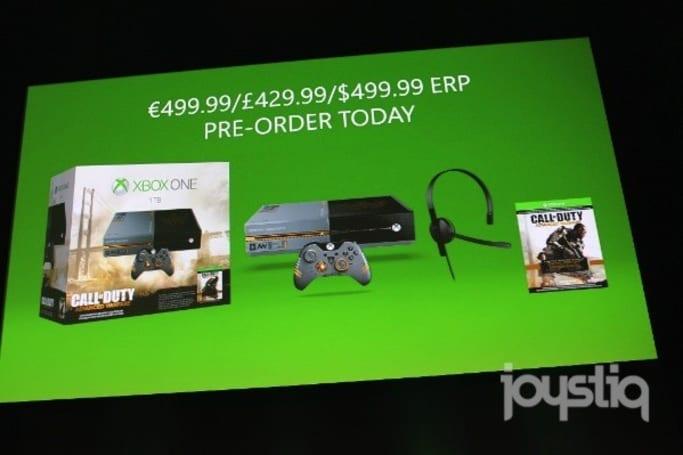 Call of Duty: Advanced Warfare Xbox One bundle unveiled