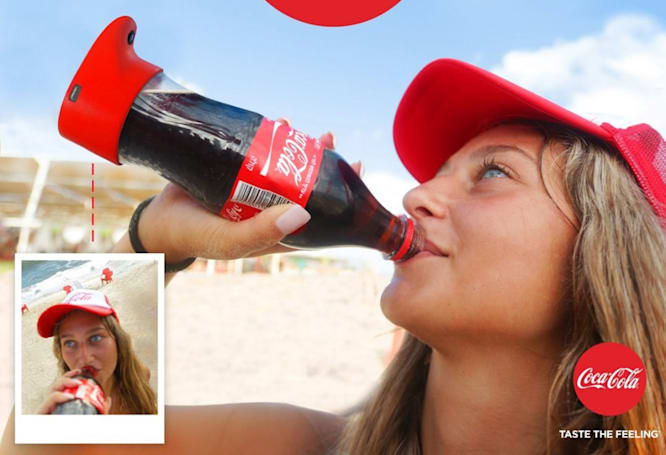 Coke made a selfie bottle because the world surely needed one