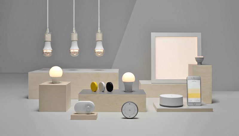 IKEA launches its own low-cost smart lighting range