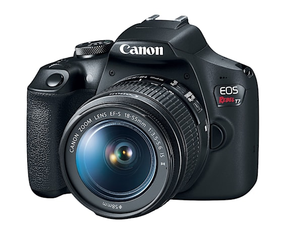 Canon's entry-level Rebel T7 DSLR targets social media users