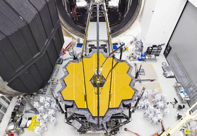 NASA's James Webb telescope is one step closer to launch
