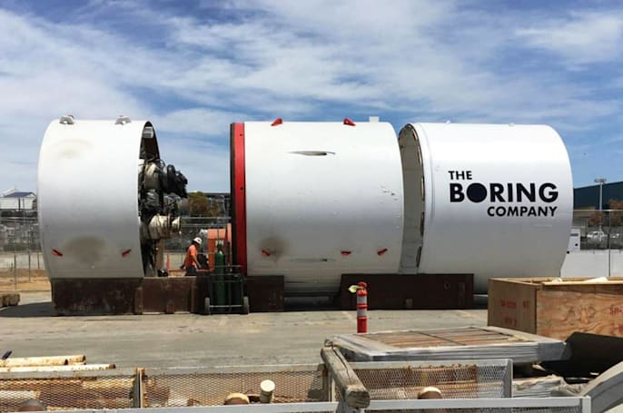 The Boring Co. will sell giant 'Lego-like' building bricks
