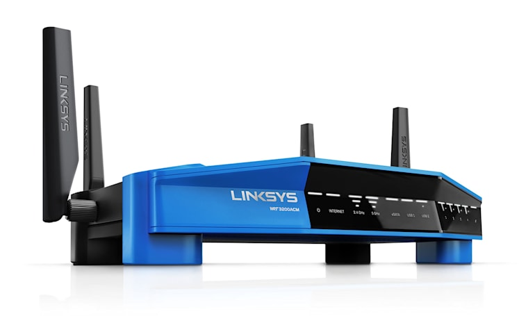 Linksys boosts the speed of its customizable WRT router