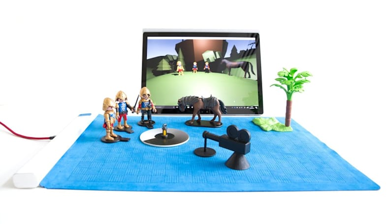 Microsoft's object-detecting playmat brings toys to life