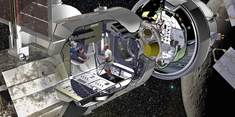 NASA backs deep space habitat made with old ISS cargo module