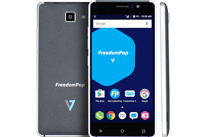 FreedomPop launches a cheap phone to go with its free SIM