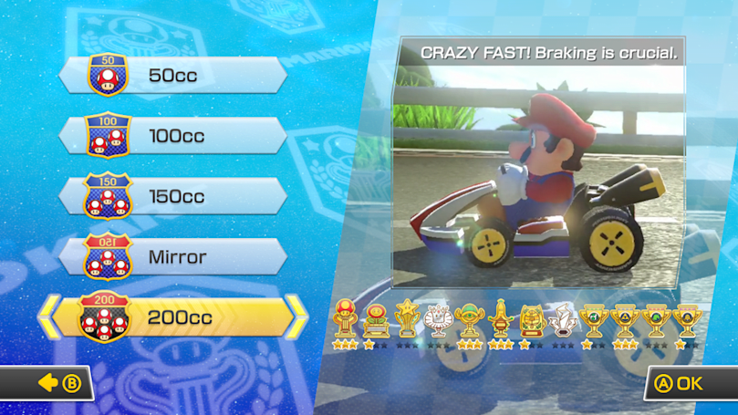 Mario Kart 8's super-fast 200cc class almost made me puke