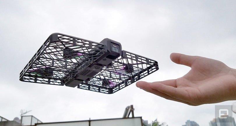 Hover Camera is a safe and foldable drone that follows you