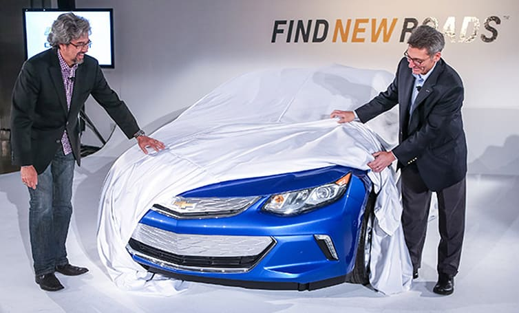 Chevy previews next-gen Volt with location-based charging system