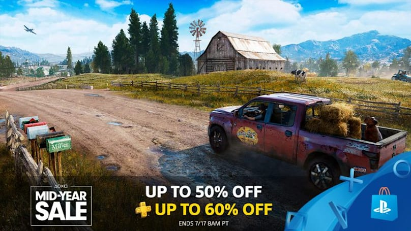 Summer gaming sale fever reaches PlayStation Store