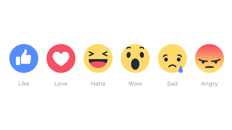 On Facebook, love reactions triumph over hate
