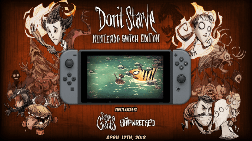 Survival game 'Don't Starve' hits Nintendo Switch April 12th