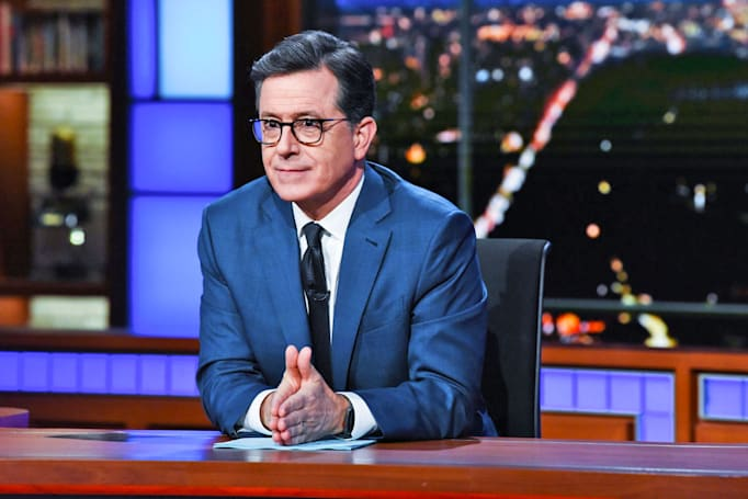 Google sponsorship will cut ad time on Stephen Colbert's 'Late Show'